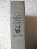 The Psalms of David and Others, Arion Press, Slipcase Spine