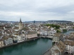 Photo 65: View #1 of Zurich from top of tower, Grossmuenster church.