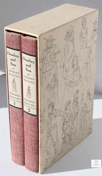 Dombey and Son, Limited Editions Club, Books in Slipcase